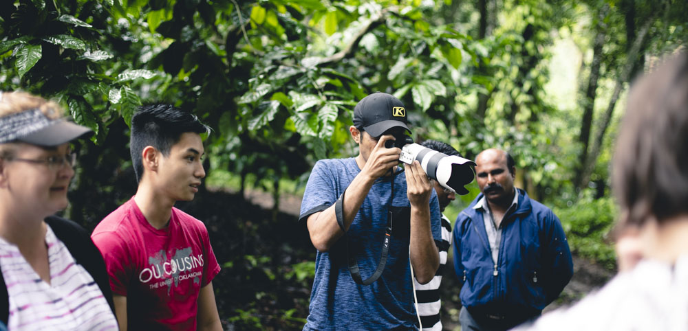 DCAM crew member seen shooting footage for Immersion India's Promotional Film